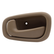 Picture of 98-02 Chevrolet Corolla Toyota Prizm New Interior Drivers Light Brown Door Handle Aftermarket Replacement