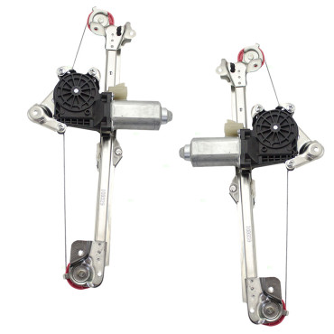 SmallElectricMotors WindowRegulators RegulatorAssemblies further Oldsmobile Cutlass Chevy Malibu Classic New Pair Set Rear Power Window Lift Regulators With Motors in addition Mitsubishi Galant 1989 1990 1991 Service Manual Repair7 also 172142740060 in addition 361313348173. on window wiper motors