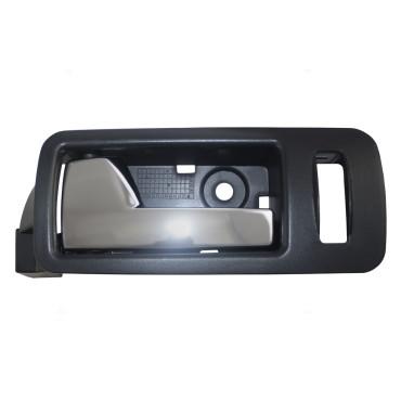 05 14 Ford Mustang Drivers Front Inside Door Handle Black Bezel W