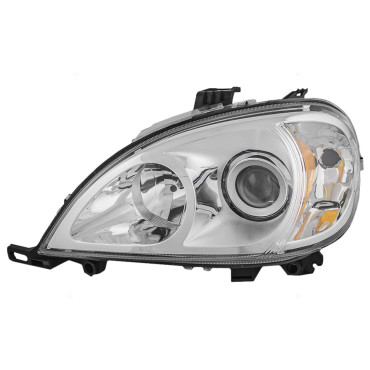 02 05 mercedes benz m class new drivers for Mercedes benz headlight lens
