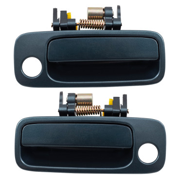 97 01 toyota camry set of outside outer front blue door - 2003 toyota camry exterior door handle ...