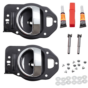 06 11 chevrolet hhr drivers set of inside door handle repair kits for 2006 chevy hhr interior door handle