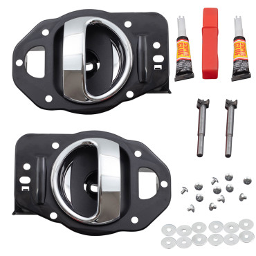 06 11 chevrolet hhr pair set inside door handle repair kits for 2006 chevy hhr interior door handle