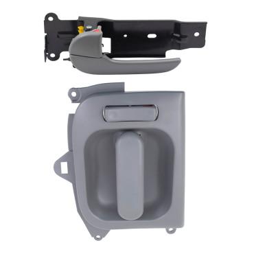 02 05 Kia Sedona New Drivers Inside Front Sliding Gray Door Handle Assembly