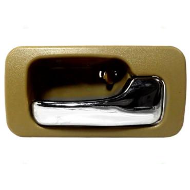 90 93 honda accord passengers inside manual tan chrome door handle. Black Bedroom Furniture Sets. Home Design Ideas