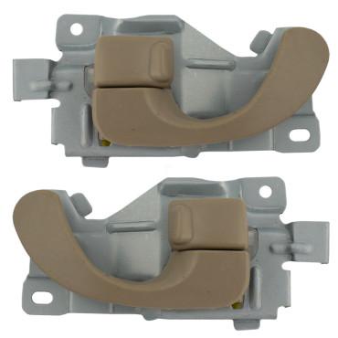Mitsubishi eclipse chrysler sebring dodge stratus set of inside beige door handles for Chrysler sebring interior door handle