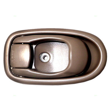96 00 hyundai elantra drivers inside beige door handle. Black Bedroom Furniture Sets. Home Design Ideas