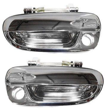 00 05 hyundai accent new pair set outside exterior front chrome specialty door Hyundai accent exterior door handle