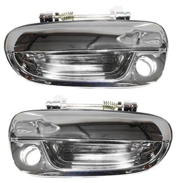 00 05 hyundai accent new pair set outside exterior front chrome specialty door Hyundai accent exterior door handle