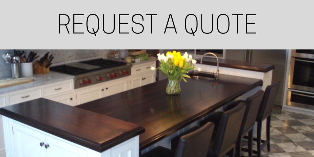 Request a Quote White Kitchen