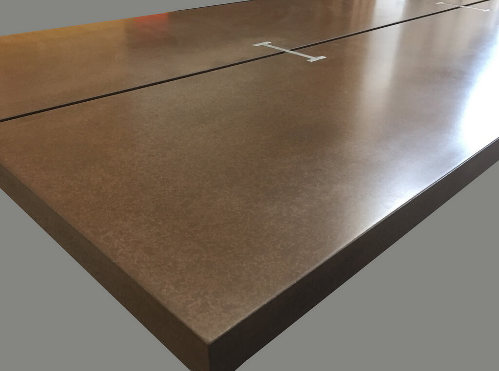 ... Custom Concrete Table Top ...
