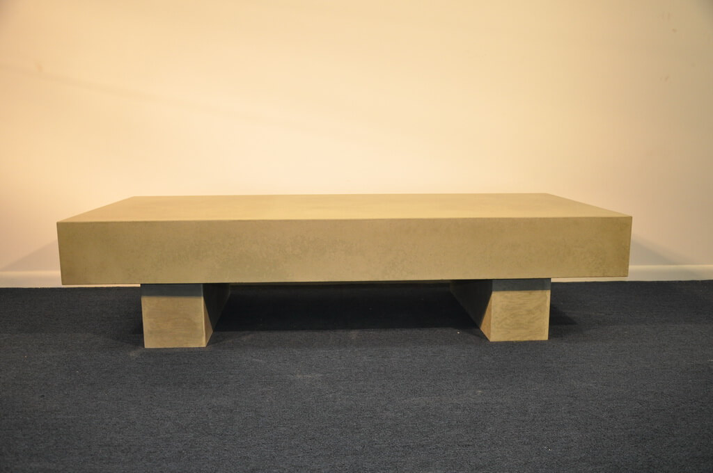 Engineered Concrete Coffee Table