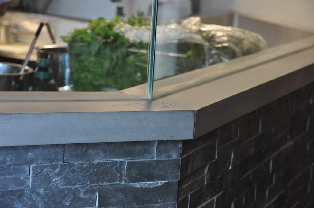 Custom Concrete Sill Top Detail
