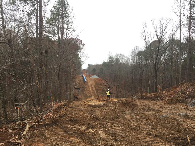 Raw Water Pipeline Installation