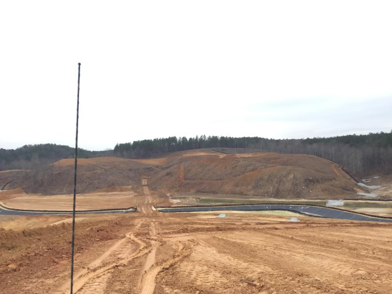 Dam Site - View from Right Abutment Facing Left Abutment