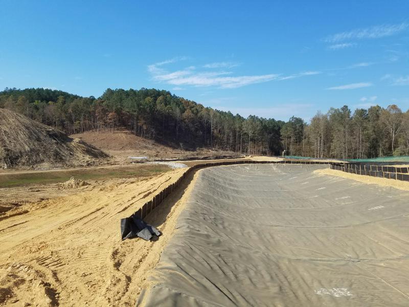 Dam Site - Diversion Channel Construction