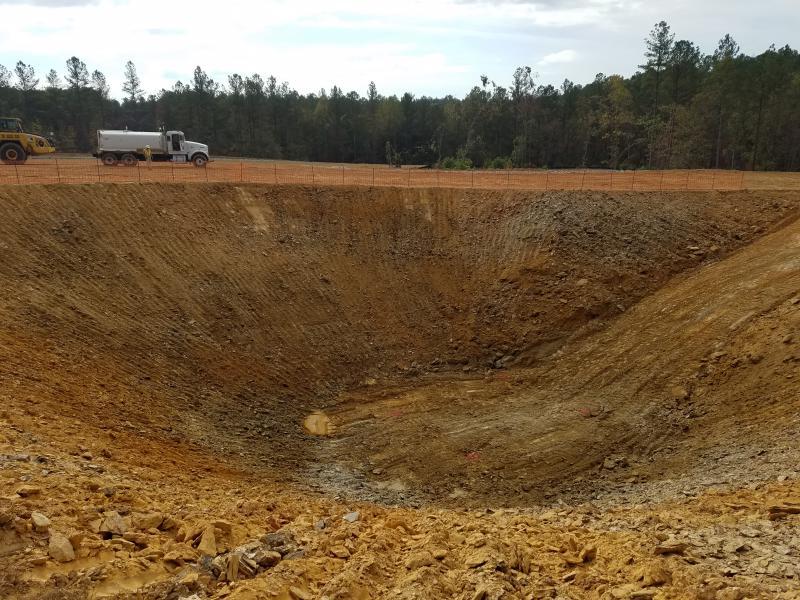 WTP Site - Gravity Thickener Excavation