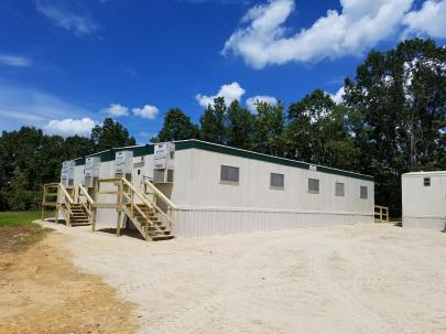 WTP - Installation of Construction Trailers