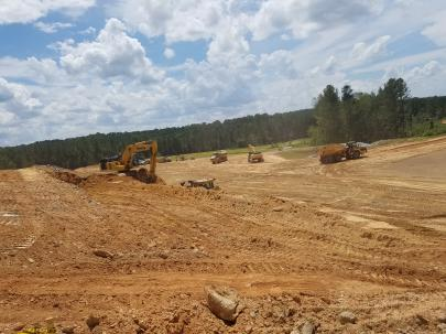 Continued Excavation at WTP Site