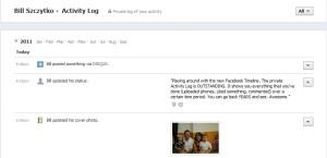 Facebook Activity Feed
