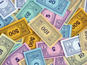 All the monopoly money you can count