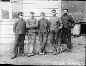 What's your first reaction when you see these guys? Laborers? Don't judge. One could've been a scholar too.