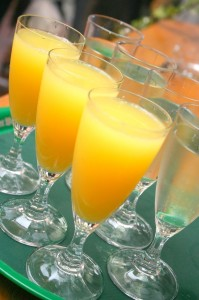 Mimosas! Breakfast of Champions.