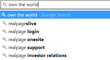 RealPage is trying to take over the world, Google says so