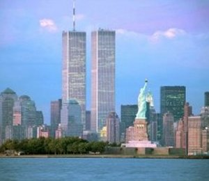 Twin Towers as they used to stand