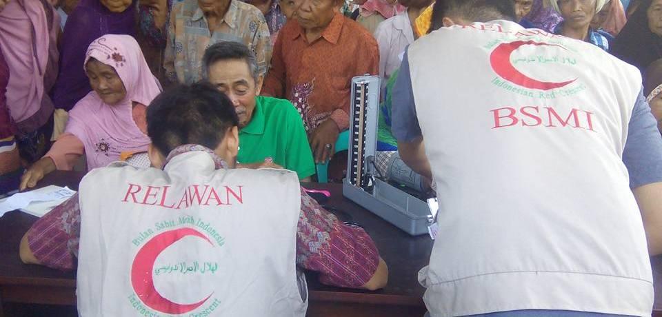 BSMI Bekerjasama Dengan PLN dan BMH Adakan Pengobatan Gratis