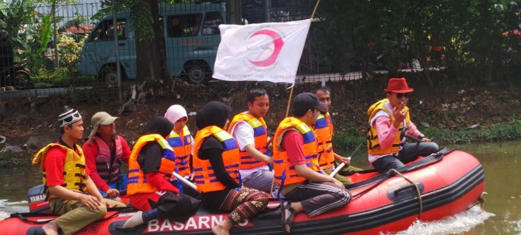 Water Rescue dan Simulasi Perahu Karet