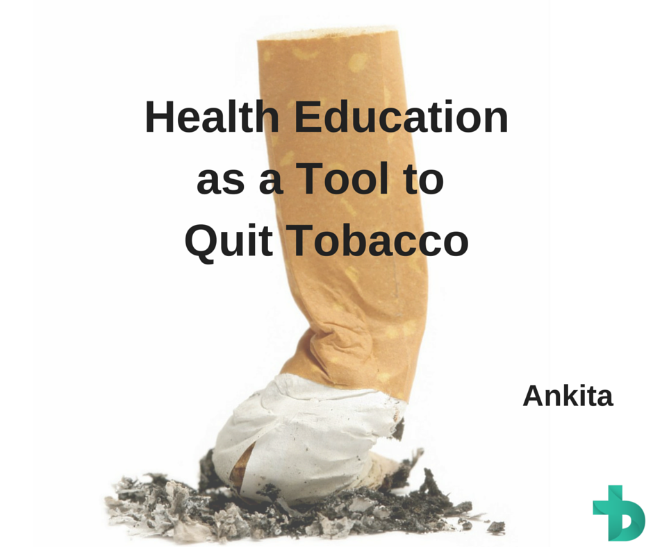 Health education as a tool to quit tobacco use among non-teaching staff in a medical college