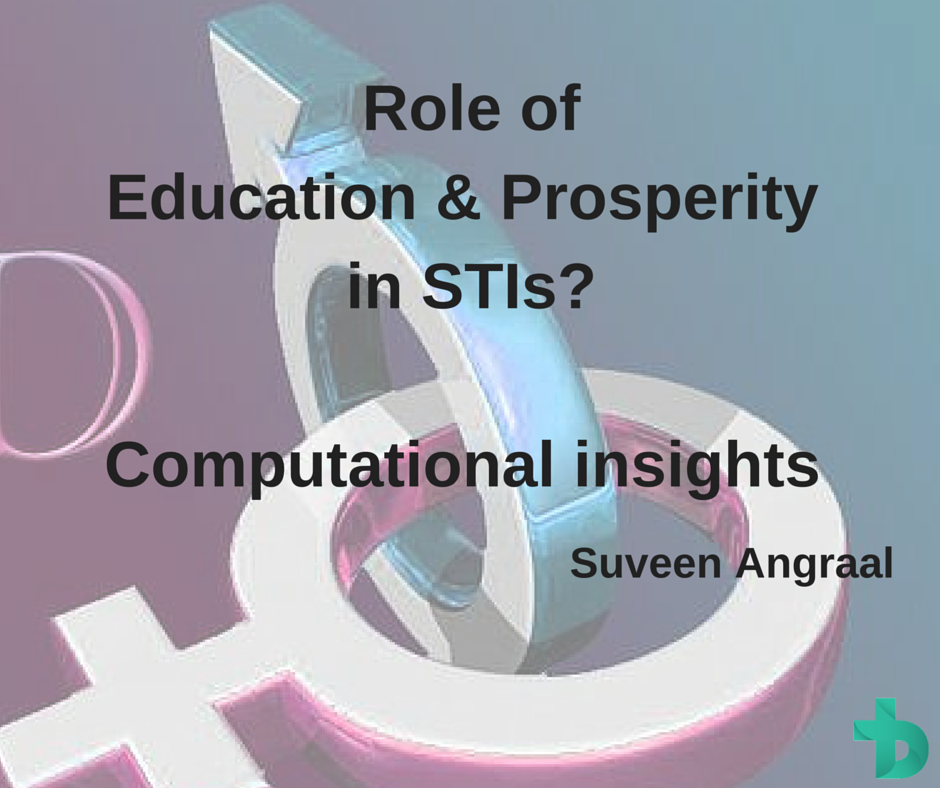 Do Education and Prosperity Help in Decreasing Incidence of Sexually Transmitted Infections? Computational insights from two decades of huge data