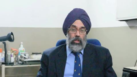 Watch ENT expert Dr. Ajit Man Singh talk about Management of acute trauma to the optic nerve !!