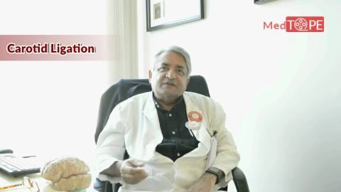 Watch Dr. Ajaya Nand Jha, Neurosurgery at Medanta - The Medicity, talk about Carotid Ligation, Transient Hemiparesis and the evolution of Lasers in Neurosurgery !!