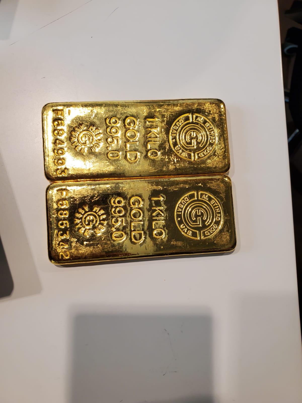 2kg gold bars