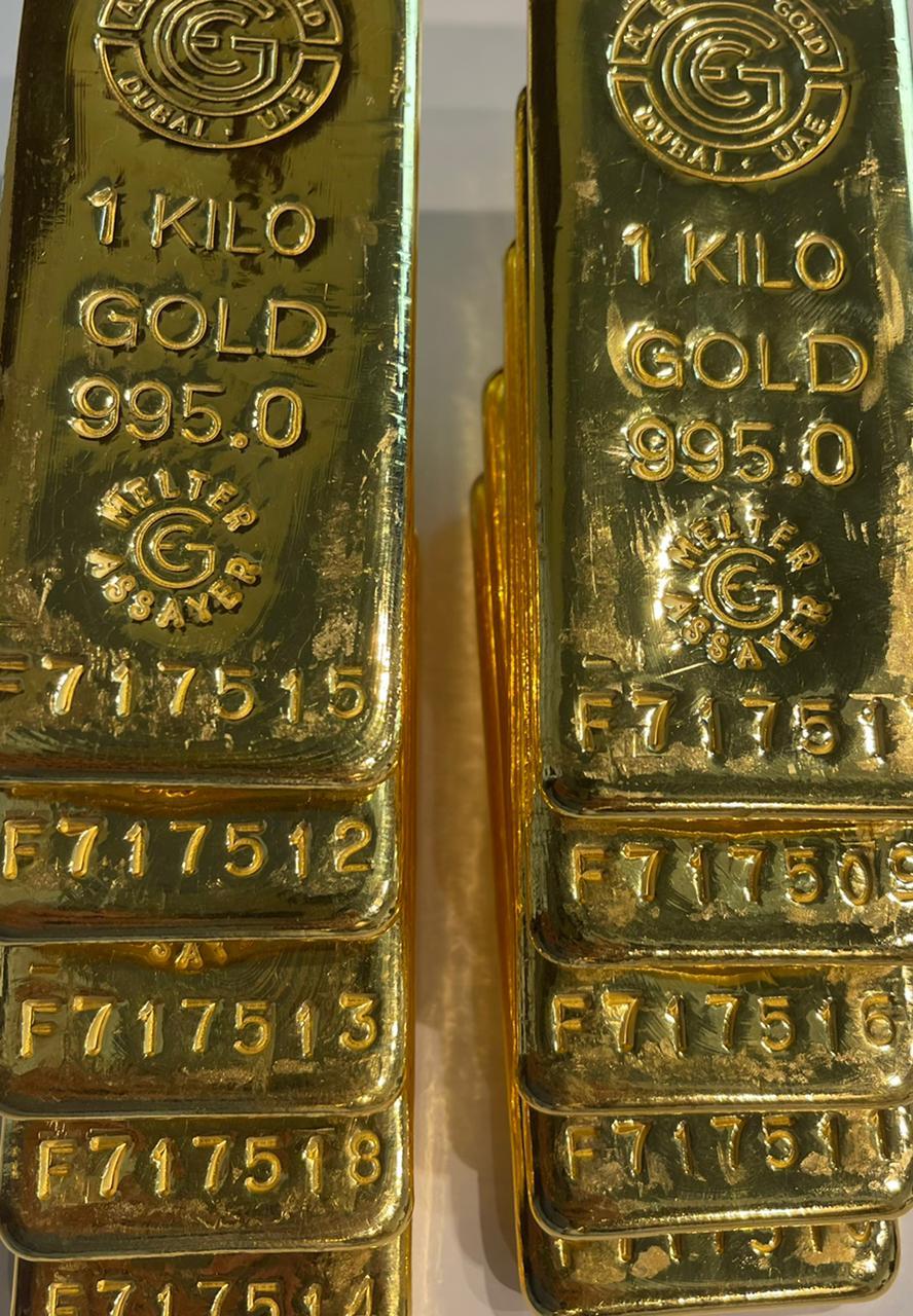 20 kg DGD Gold Bar NFT