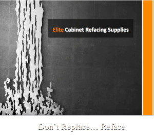 ELITE CABINET REFACING SUPPLIES HOME BANNER (A Timeless Dream Kitchen that withstand the test of time and trends….)
