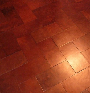 leather floor Pavement  292x300 DIY