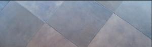 Leather floor Squares