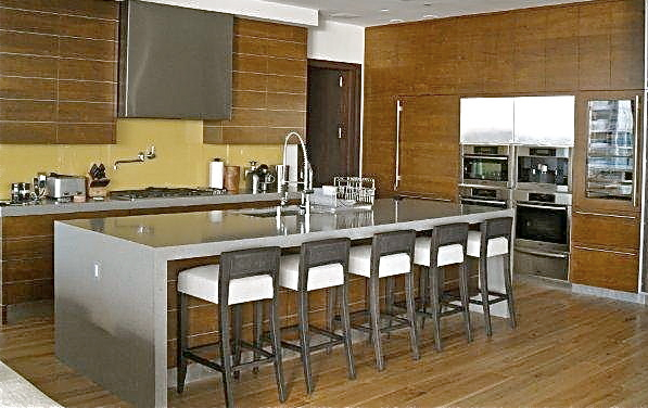 KITCHEN LEATHER CABINETS Chelsea Design Inc