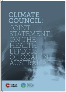 CC CHA Joint Statement Coal and Health