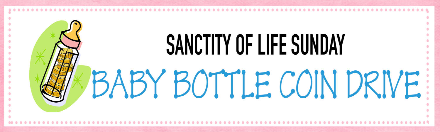 Baby Bottle Coin Drive image