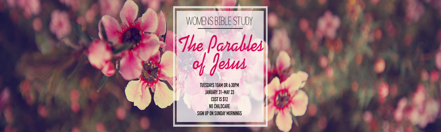 The Parables of Jesus Women's Bible study image