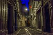 Fotografía nocturna de Périgueux, descubriendo Francia