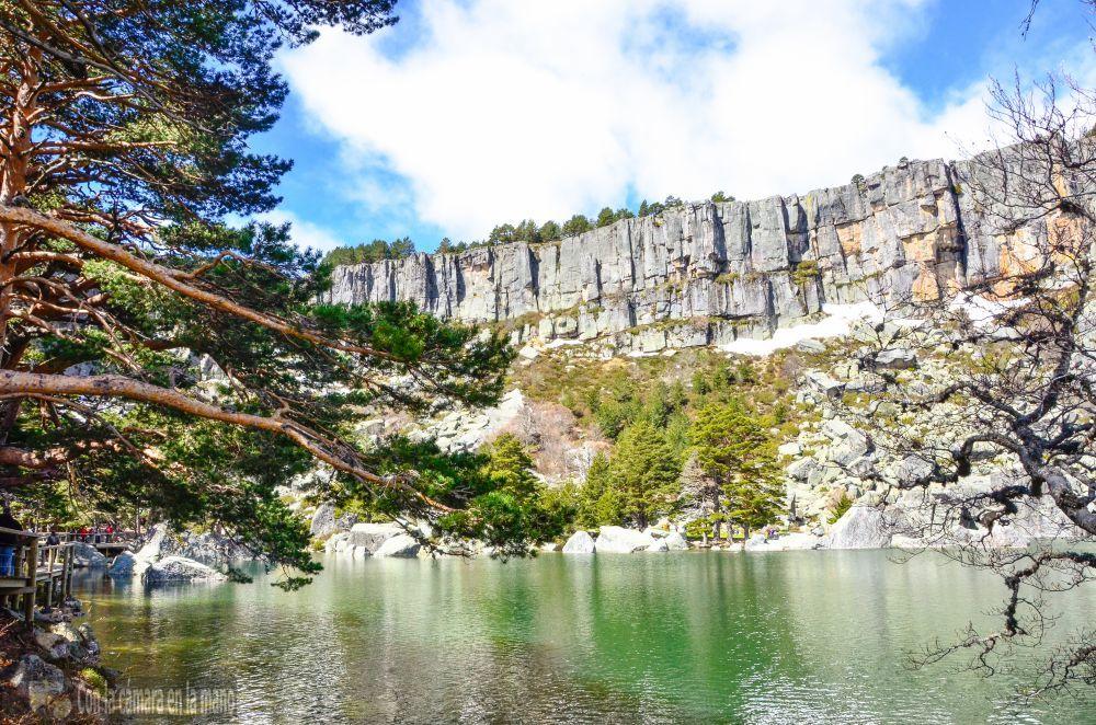 Fotografías de la visita a la Laguna Negra
