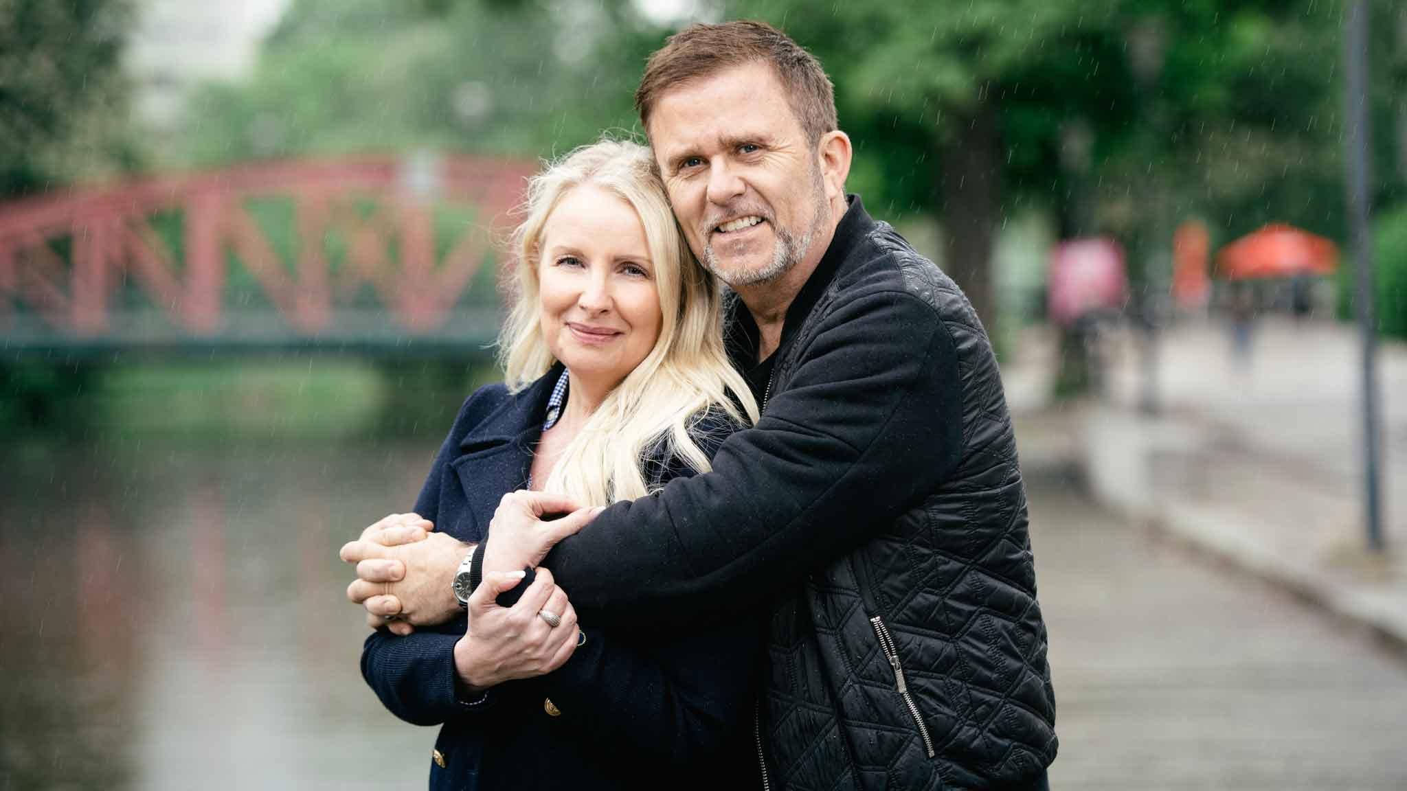 Jan Johansen och hans fru Jenny