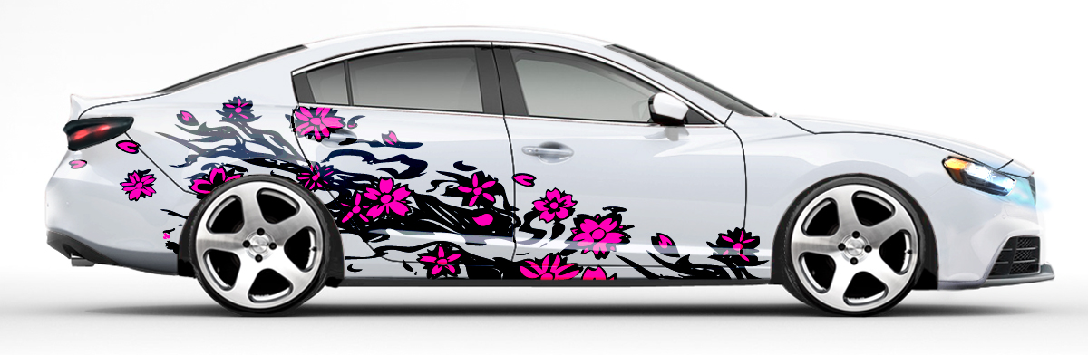 Girly Car Decals And Graphics