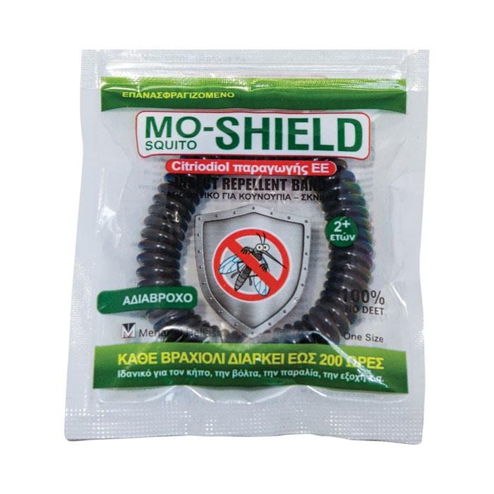 MENARINI - Mo-Shield Insect Repellent Band Απωθητικό Βραχιόλι για Κουνούπια - 1τμχ