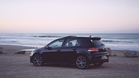 Car hire beach